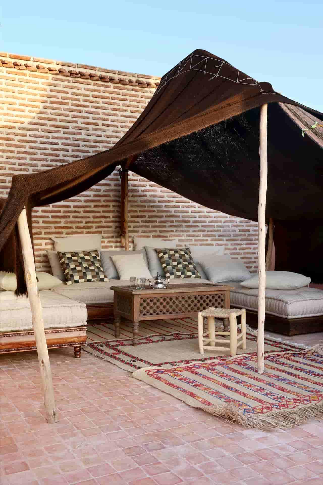 Aménagement terrasse Maroc