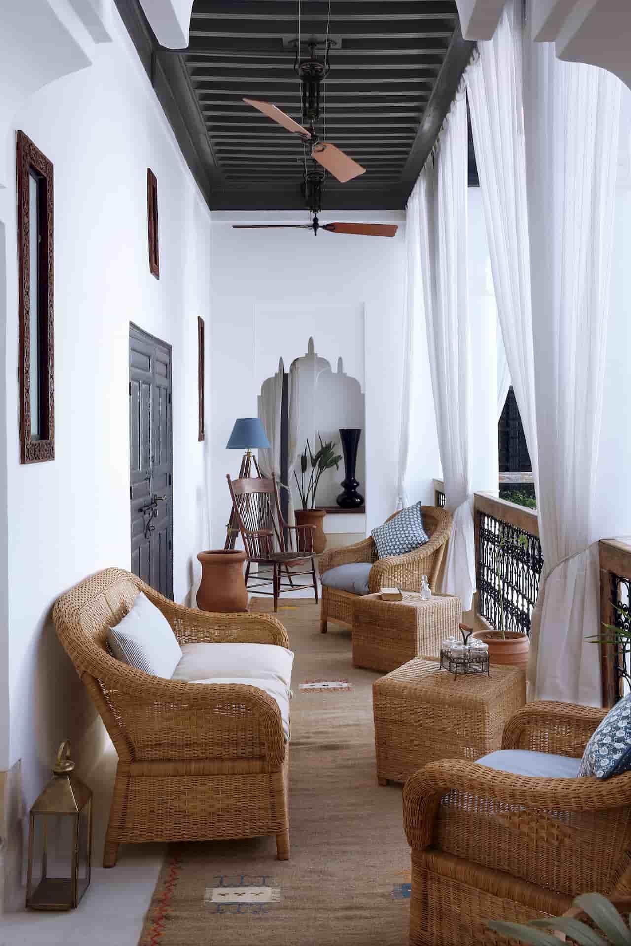 Architecture intérieur Hôtel Maroc