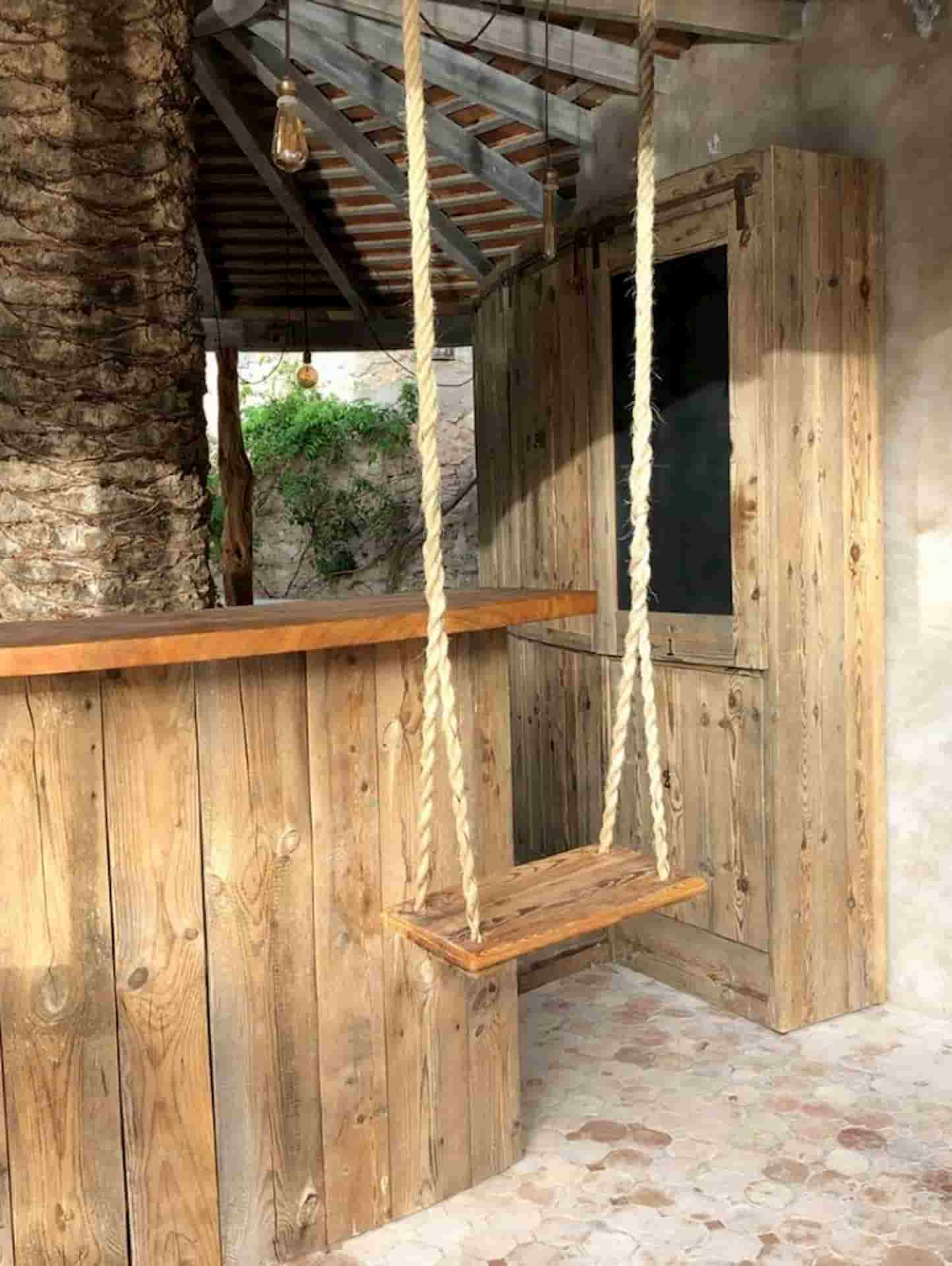Conception Bar en bois