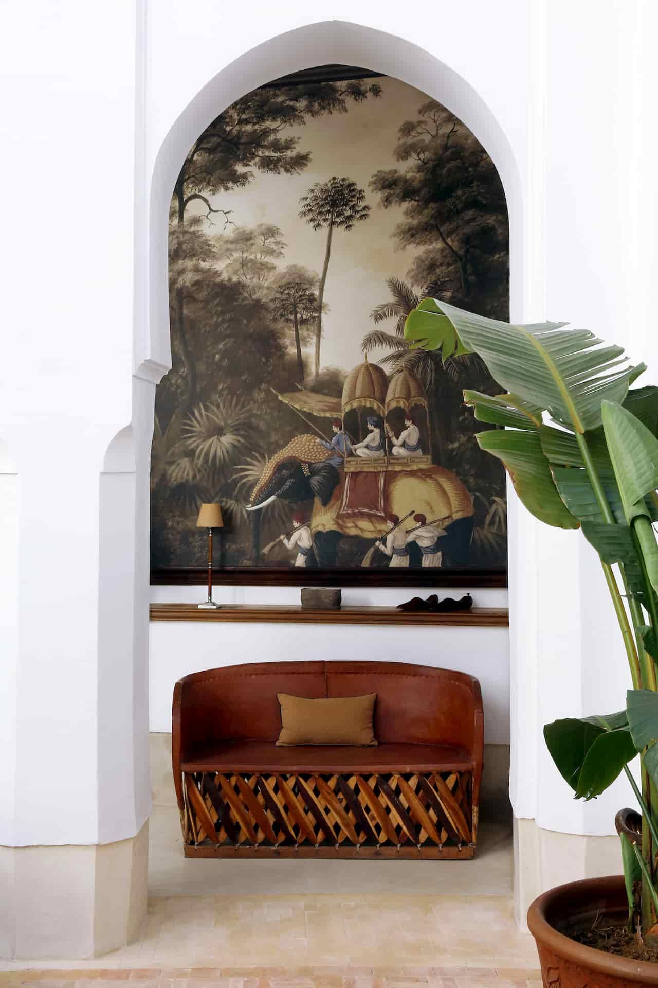 Décoration intérieur Hôtel Marrakech