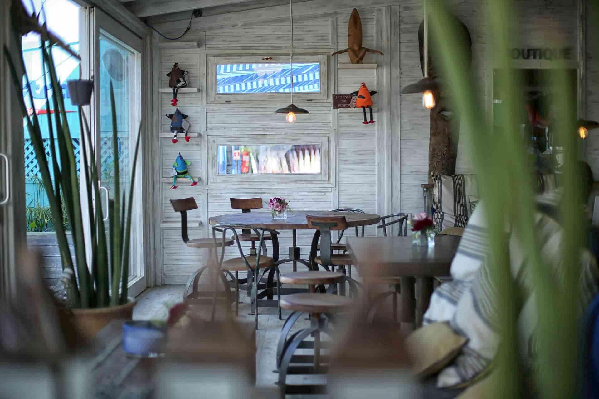 Décoration intérieur restaurant Maroc