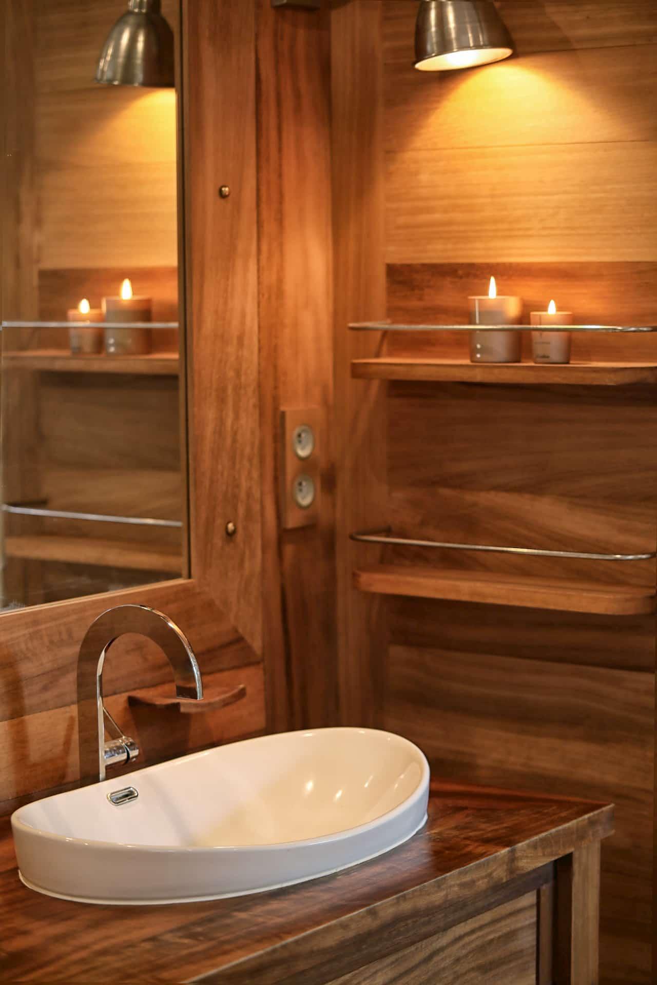 Design Salle de bain Bois