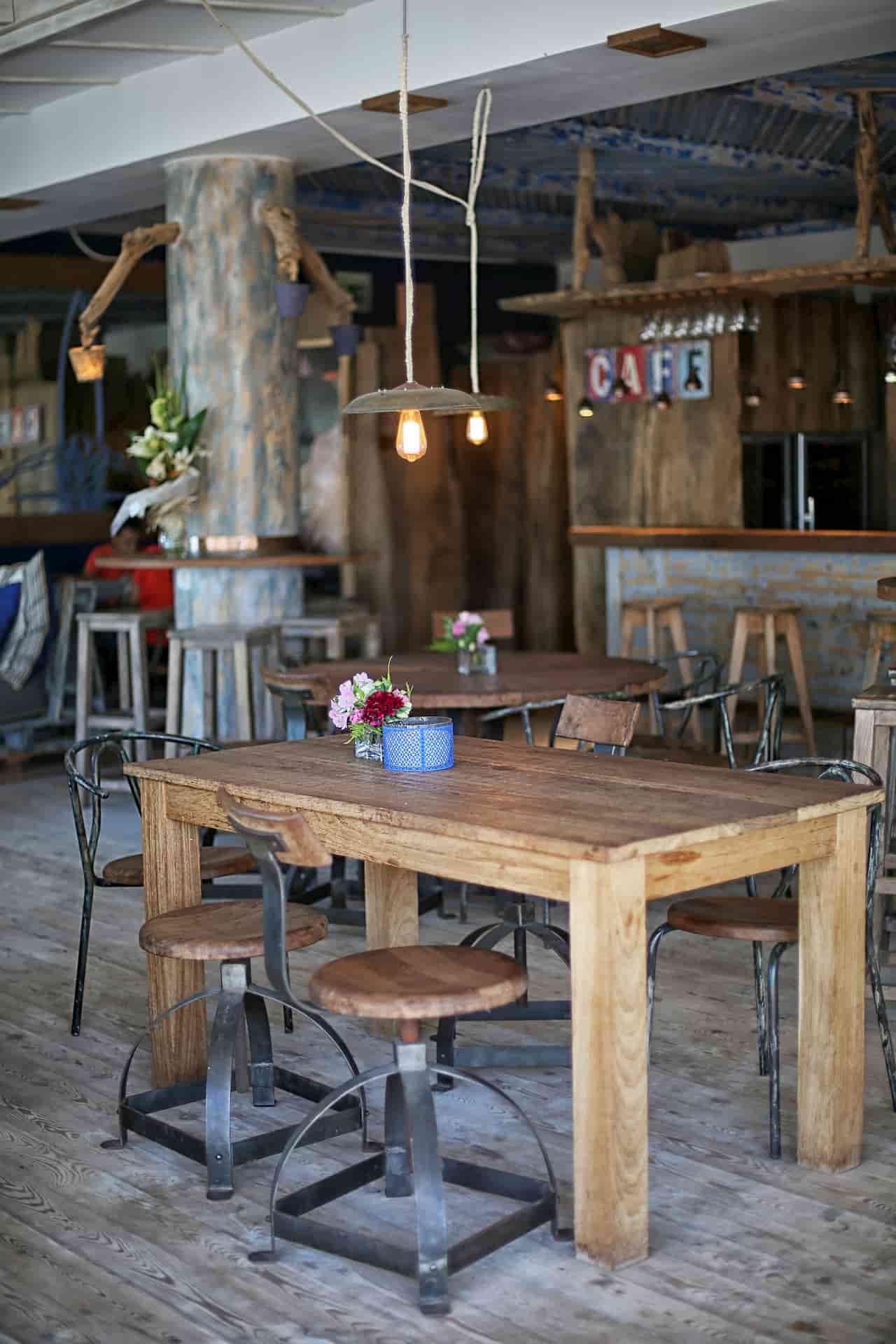 Design intérieur restaurant Essaouira