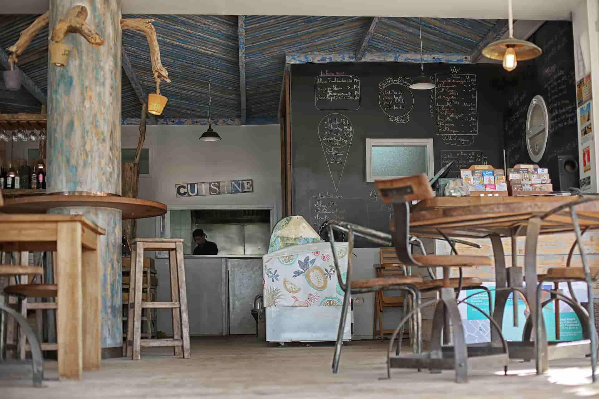 Design intérieur restaurant Maroc