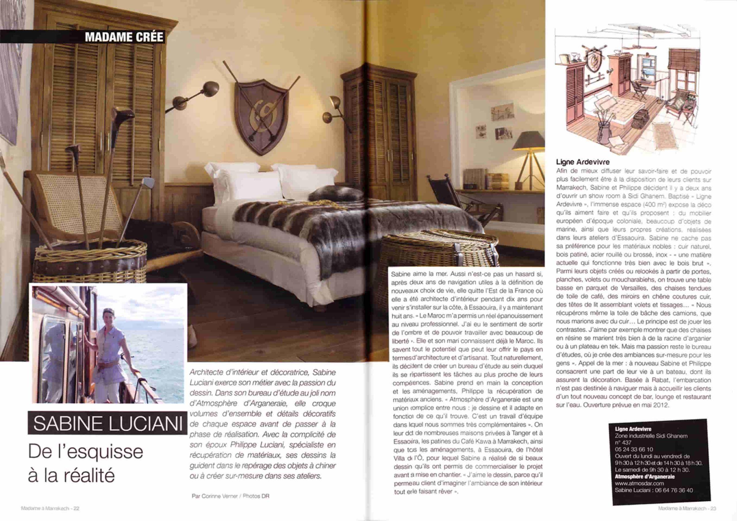 Madame à Marrakech 2012