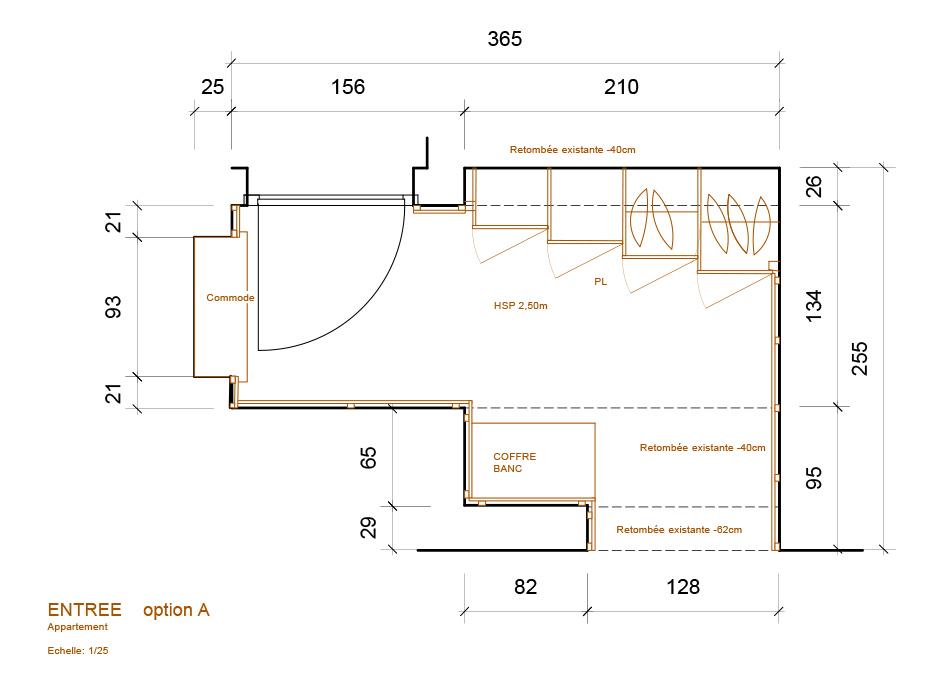 aménagement appartement plan